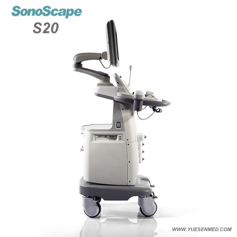 SonoScape S20 Price - SonoScape Trolley Color Dopper Ultrasound S20 Price