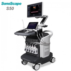 Top Grade Color Doppler 3D/4D Ultrasound System SonoScape S50