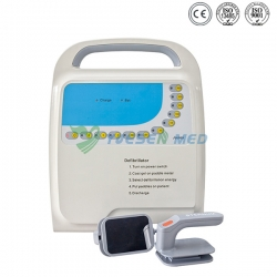 Medical First-aid Portable Monophasic Defibrillator Machine YS-9000A