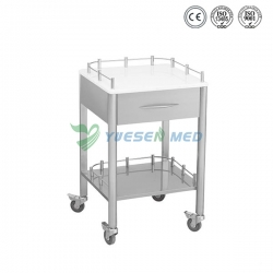 Stainless Steel One Drawer Mobile Dental Cabinet YSDEN-D30