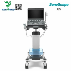 Best Selling Portable 4D Color Doppler Ultrasound Machine SonoScape X5