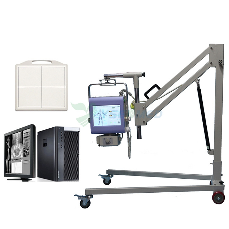 Digital Portable X-ray System With Flat Panel Detector YSX040-C