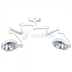 Hospital Double Headed Halogen Surgical Operation Lamp YSOT-500C2