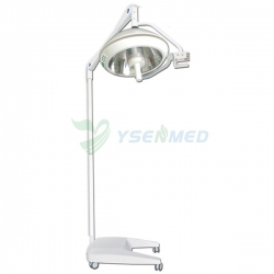 Portable Mobile Surgical Floor Lights Halogen Price YSOT-500CM