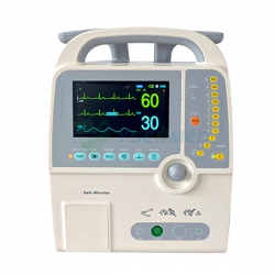 Hospital Portable Monophasic ECG Defibrillator YS-9000D