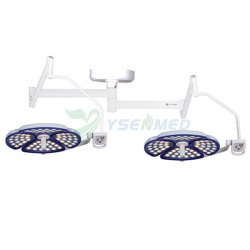 Surgical Double Heads Shadowless LED Operating Treatment Lighting Lamp YSOT-Z4040
