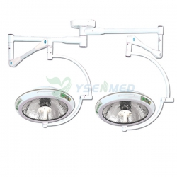 Medical Equipments Double Dome Mobile Surgical Light YSOT-600A2