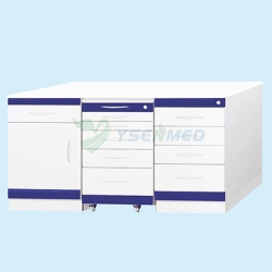 Customized Stainless Steel Dental Cabinet YSDEN-ZH01