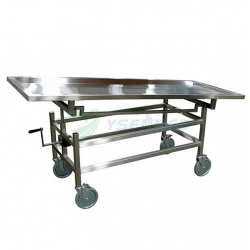 Stainless Steel Manual Mortuary Corpse Lifter YSTSC-2B ​​​