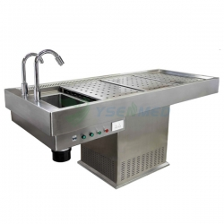 Stainless Steel Morgue Autopsy Table YSJP-02