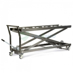Hydraulic Mortuary lift stretcher trolley YSSJT-1B