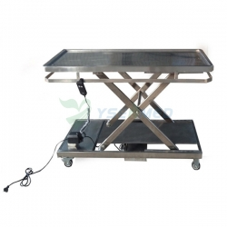 China Electric Stainless Steel Veterinary Operation Table YSVET106