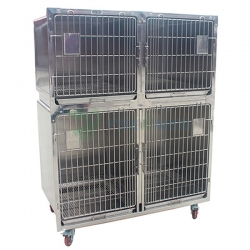 Veterinary Stainless Steel Pet Boarding Dog Cage YSVET1220