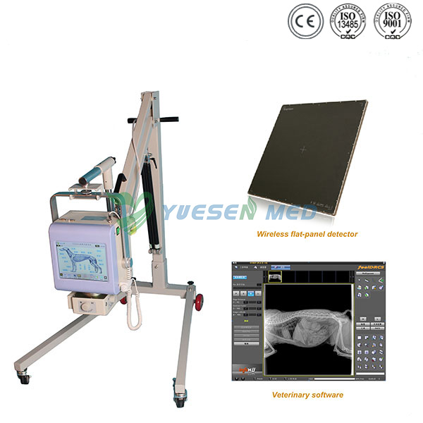 Digital Portable Veterinary X-ray System With Flat Panel Detector YSX040-C VET