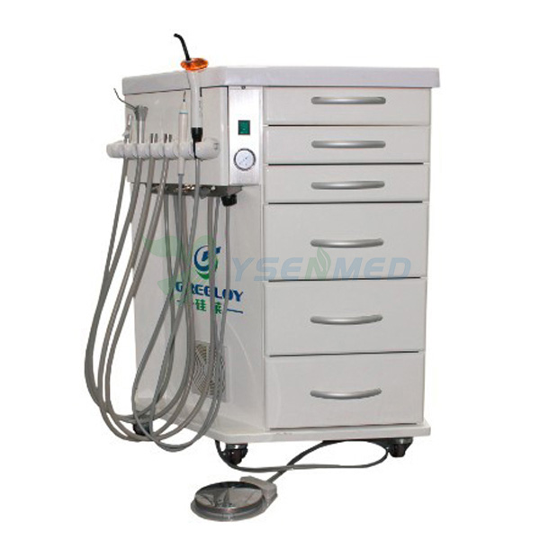 Mobile Dental Delivery System With Air Compressor