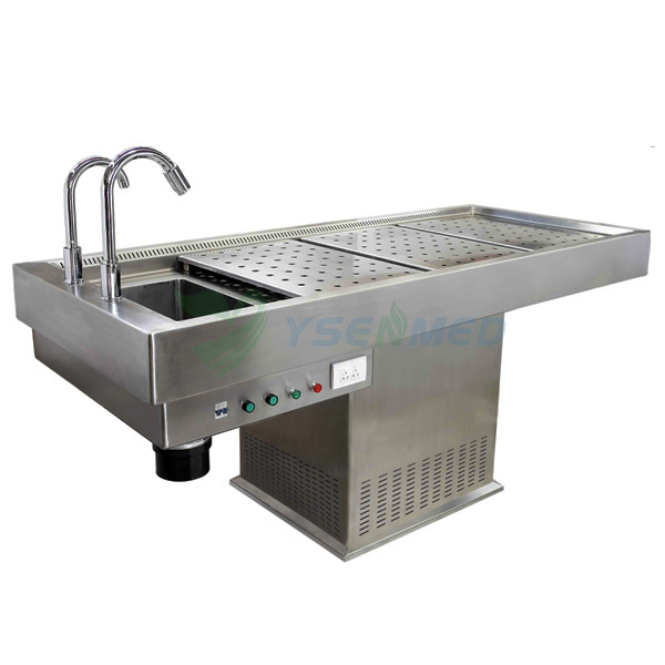 Stainless Steel Morgue Autopsy Table